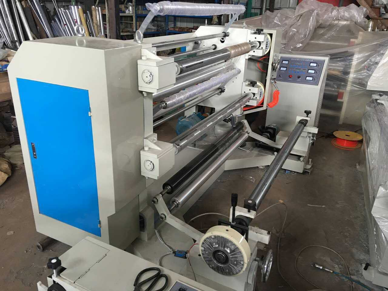 Rtfq-1100c High Speed BOPP Plastic Film Vertical Slitter Rewinder