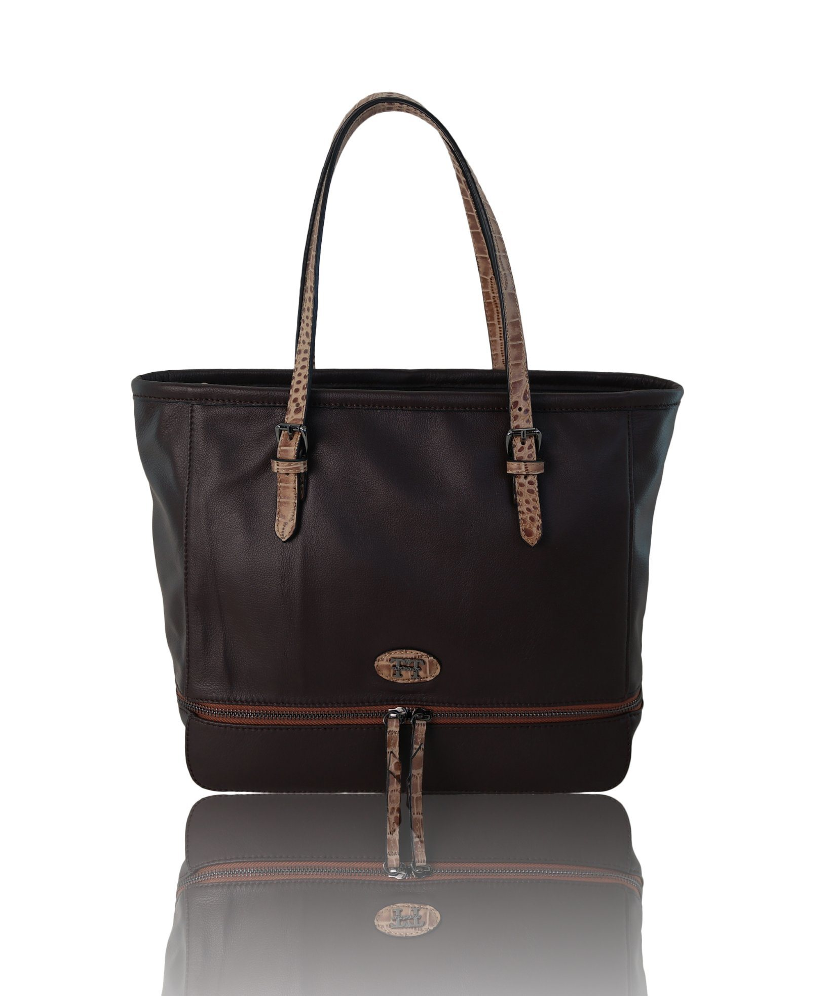 Hotselling China Wholesale Customized Women Handbag PU Leather Bag