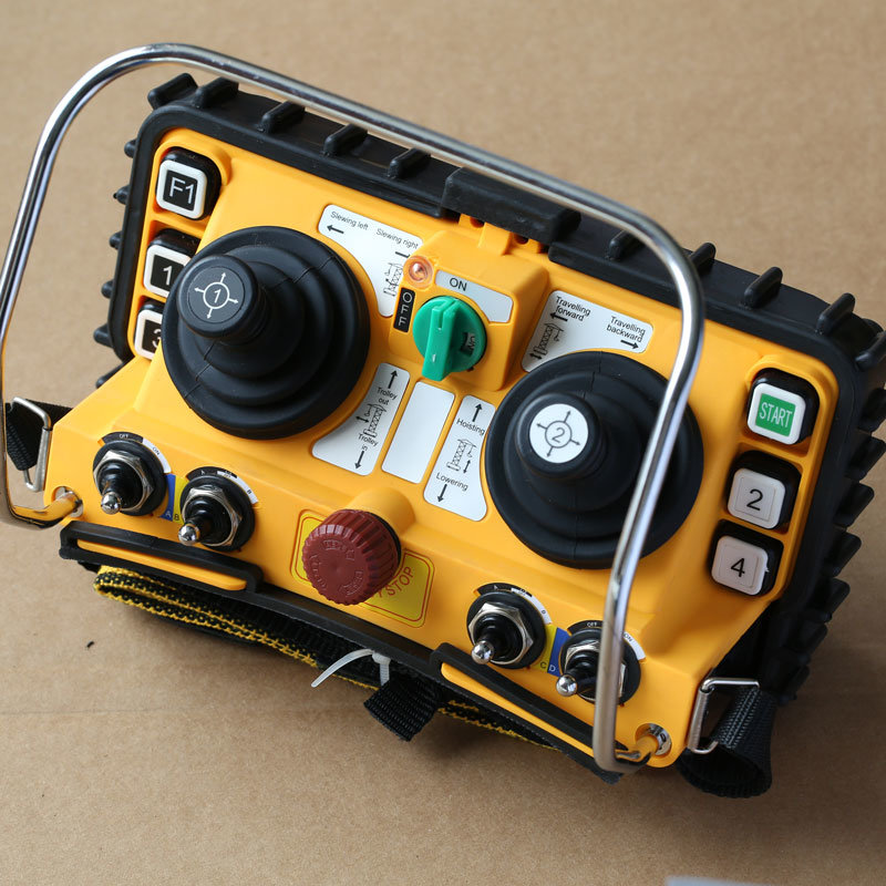 DC 12V Concrete Pump Truck Dual Joystick Radio Remote Controller