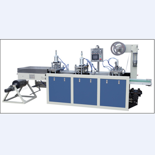 Automatic Plastic Lid Thermoforming Machine (DHBGJ-480L)