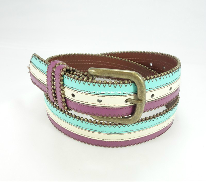 Newly-Designed Women PU Leather Waist Belt
