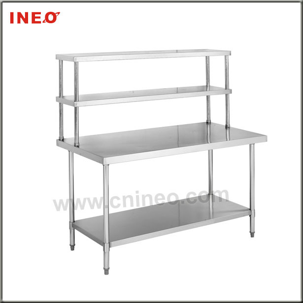 Perfect Stainless Steel Kitchen Table with Shelves 615 x 615 · 51 kB · jpeg