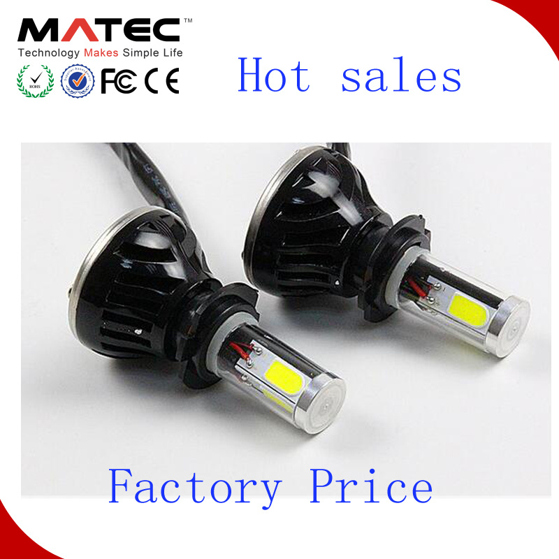 High Power H7 80W 8000lm LED Headlight Head Lamp Kit Beam Bulbs Bulb 6000k Waterproof