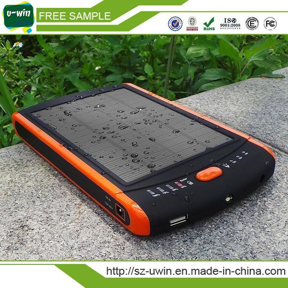 5000mAh Portable Waterproof Solar Power Bank Charger