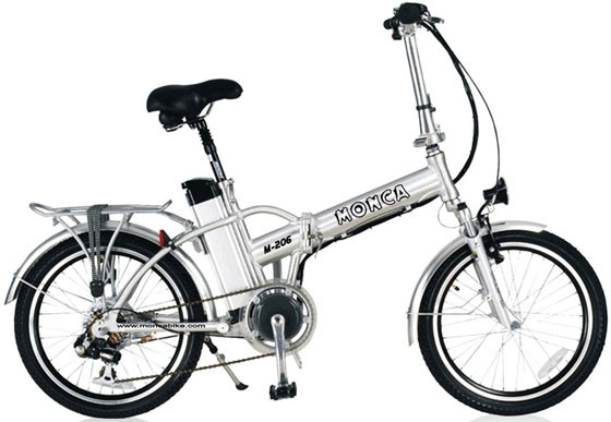 Folding Electric Bike with Lithium Battery and 250W Motor (M206)