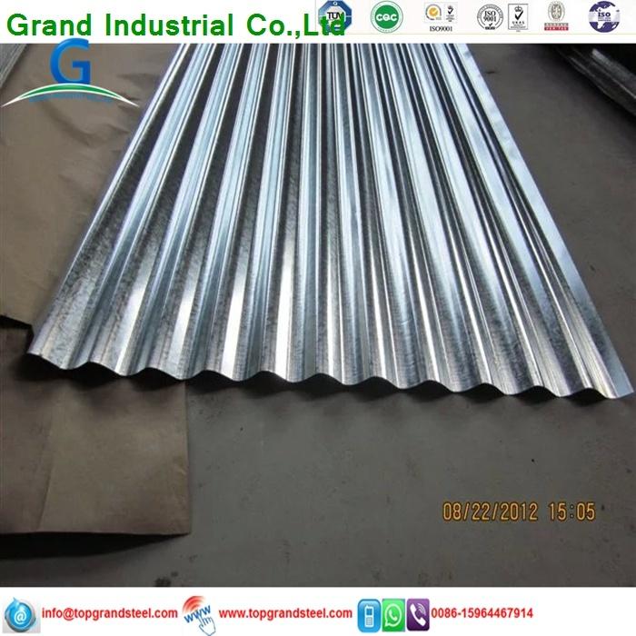 Trapezoidal PPGI/Gi Aluzinc Corrugated Galvanized  Roof Sheeting Prices for Africa Market 5