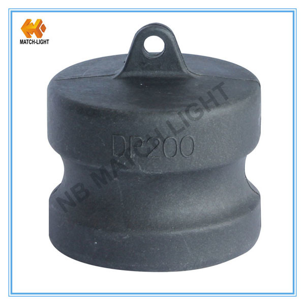 """Polypropylen 1/2"""" to 4"""" Injection Molding Dust Plug Camlock Coupling"""