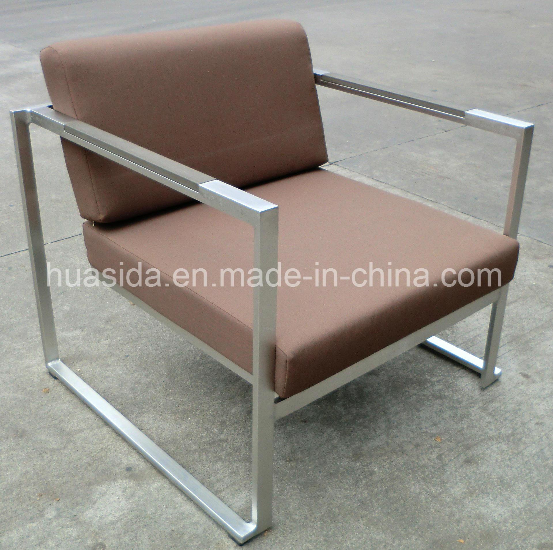 Outdoor 4-PCS Waterproof 304 Stainless Steel Sofa Set