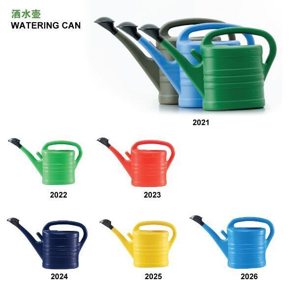 Plastic Garden Watering Can Flower Pot (2021-26)
