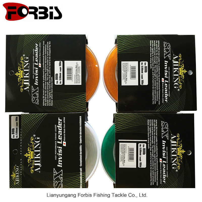 Colorful Hand Grasp Spool Nylon Fishing Line