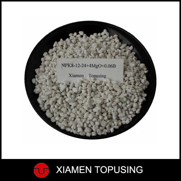 Compound Fertilizer NPK 8-12-24+4MGO