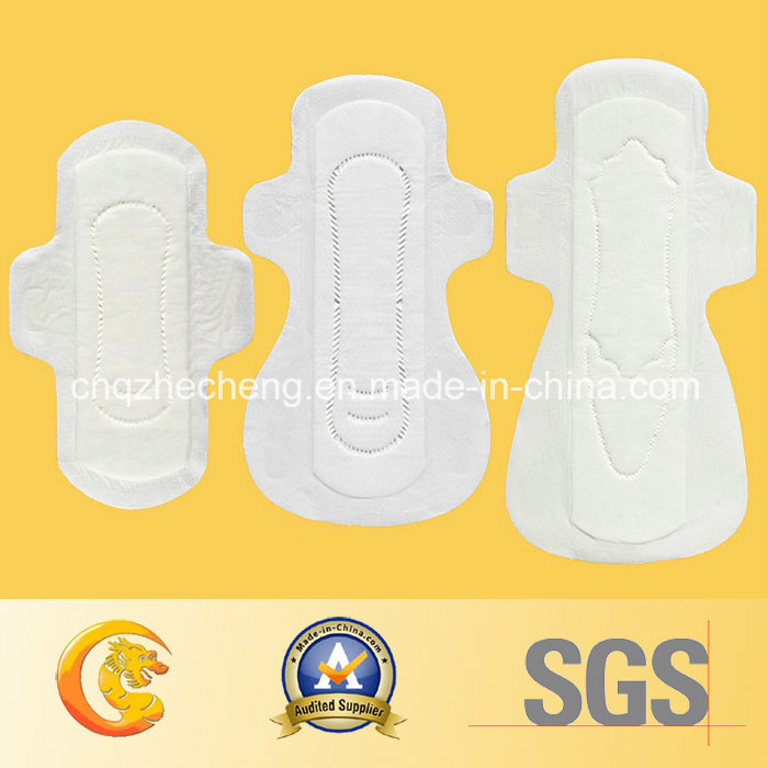 245mm Normal Ultra Thin Anion Sanitary Napkins Pads with Wings