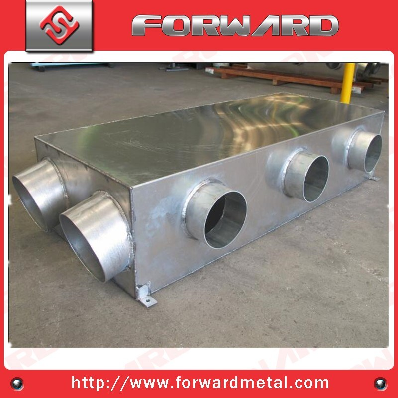 Sheet Metal Fabrication with Welding Service