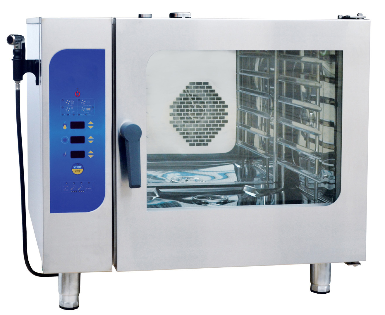 Micro-Computer Control Gn1/1 Commercial Combi Steamer