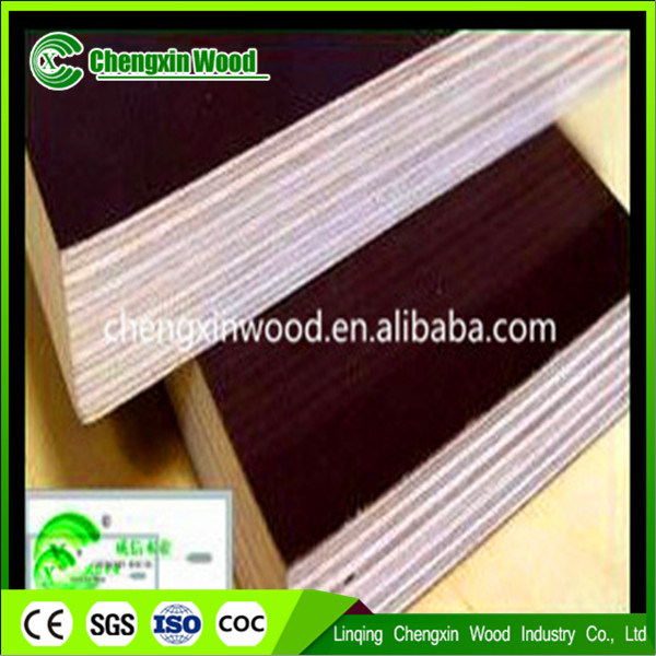 18mm Brown Film Faced Plywood 18mm Laminated Marine Plywood Cheap Plywood for Sale