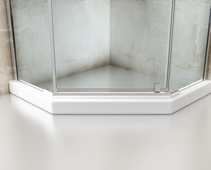 8mm Tempered Clear Glass Shower Enclosure with Ce/as. Nzs2208 Certificate (ACE-GS001)