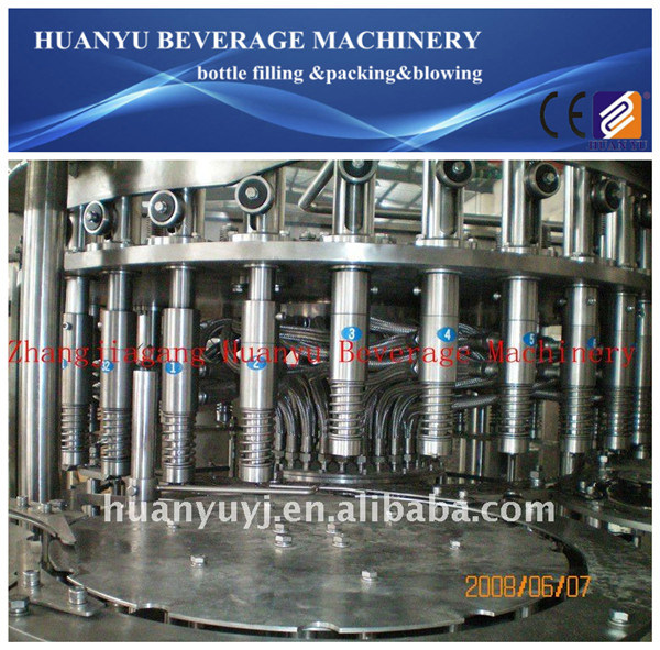 Full Automatic Fruit Juice Filling Machine