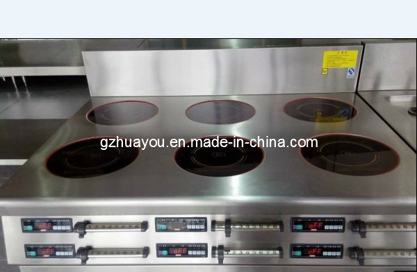 Counter Induction Cooker Range (4 hot plates, 6 hot plates)
