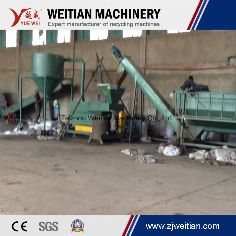 Waste Plastic Film Washing Production Machine Recycling Line