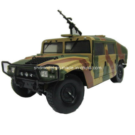 Zinc Alloy Die Cast Military Car Model (1/38)
