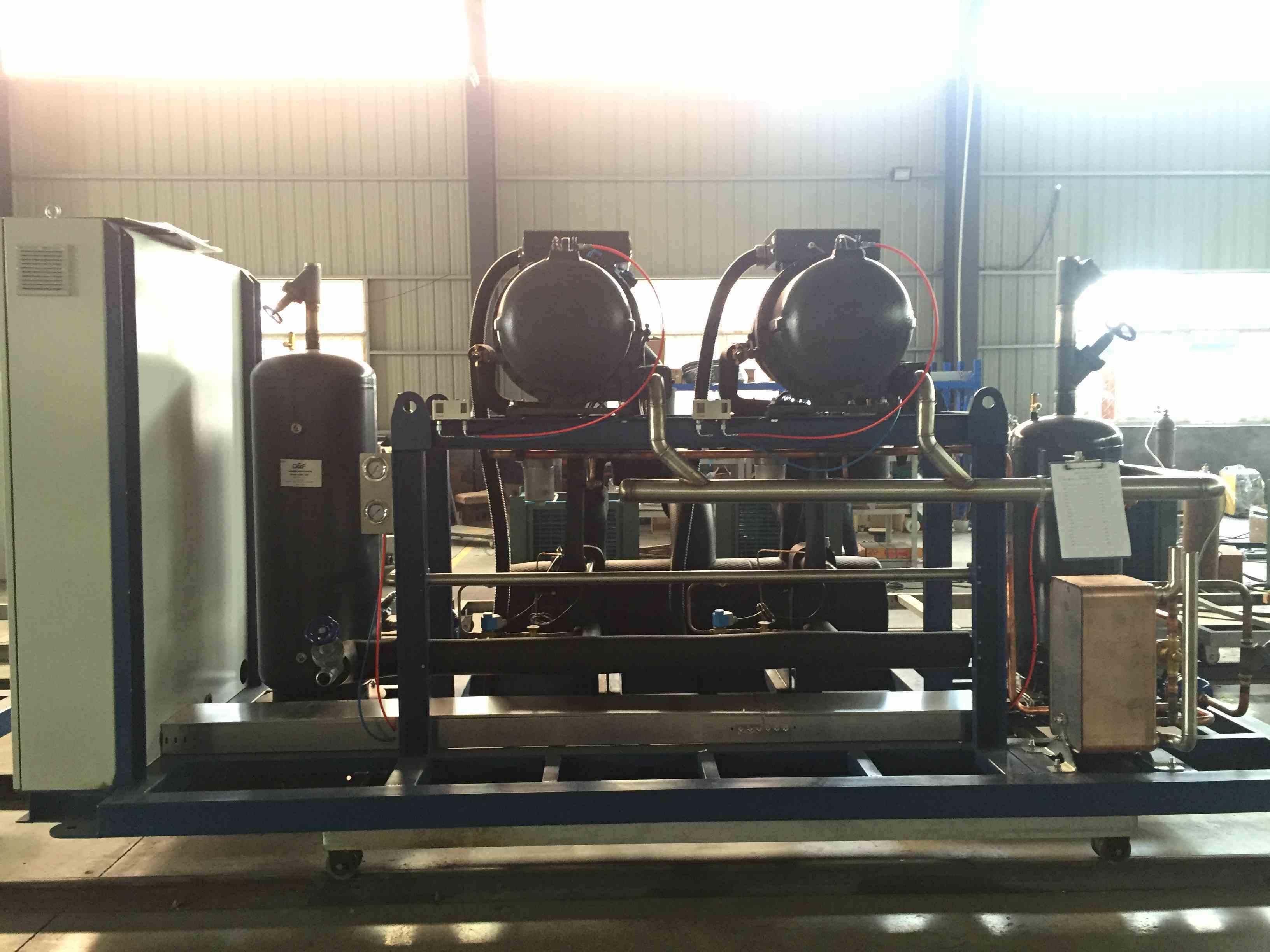 Fusheng Single and Double Stage Compressor Unit Refrigeration Compressor