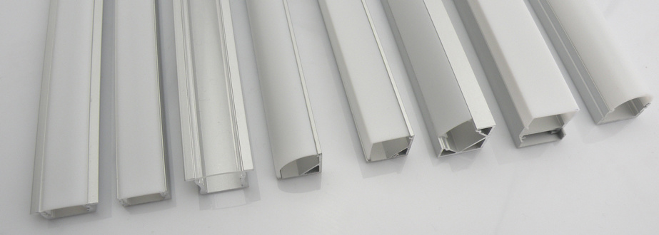 China Aluminium LED Strip Profile with Optional Diffuser (HL BAPL001