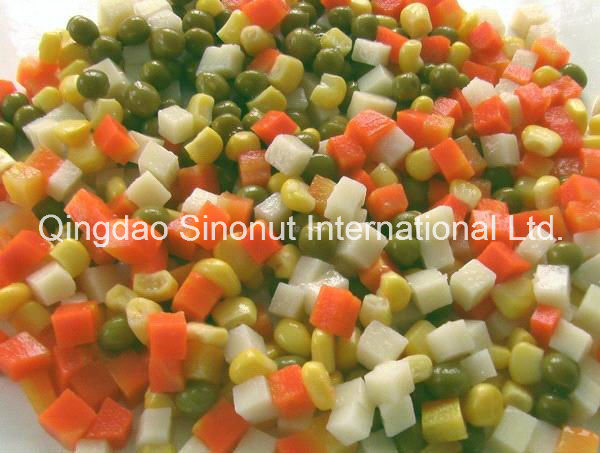 Canned Mixed Vegetables (potato, carrot, sweet corn, green peas)