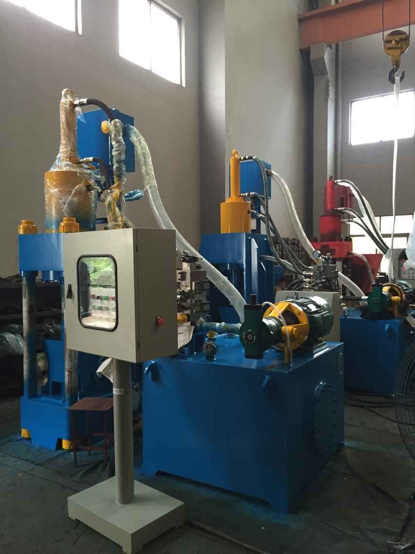 Briquetters Automatic Aluminum Iron Metal Scrap Hydraulic Briquette Recycling Machine-- (SBJ-250E)