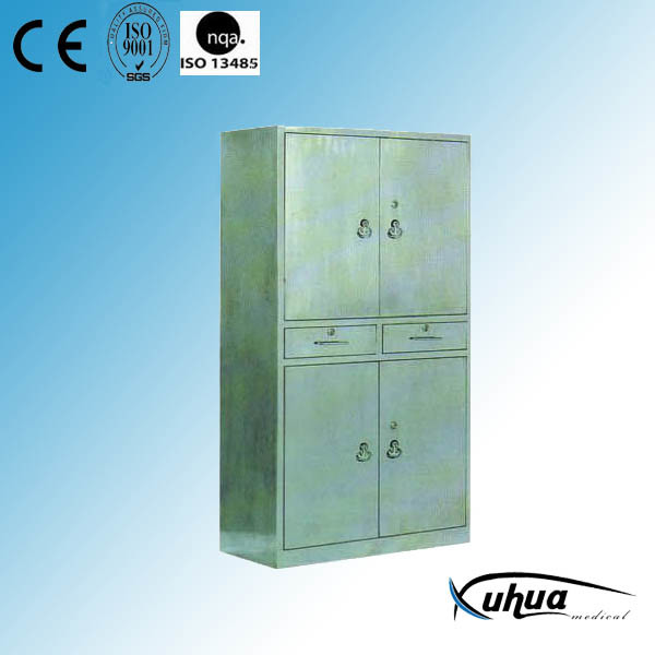 Hospital Furniture, Stainless Steel Medical Sterile Cabinet (U-17)