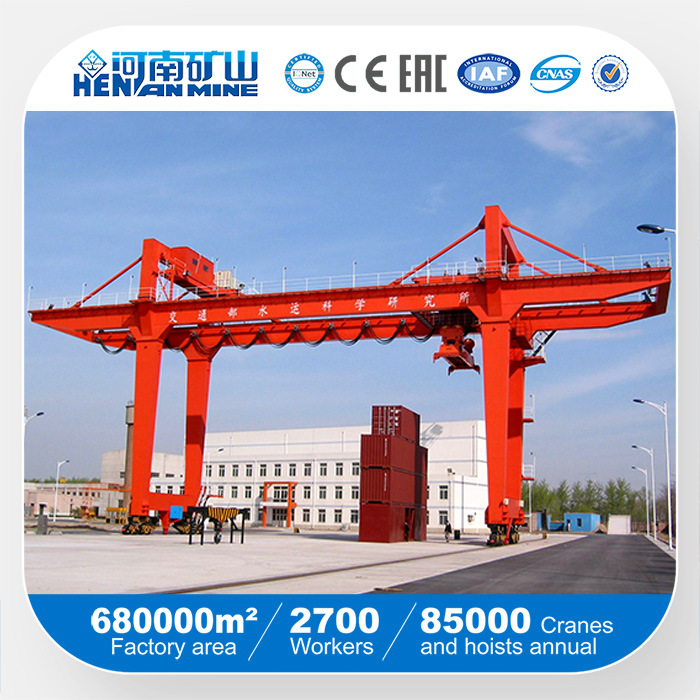 Heavy Weight Shipbuilding or Container Loading Gantry Crane