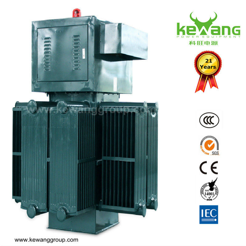 Oil Type Contactless Carbon Brush AC Voltage Stabilizer for Industrial