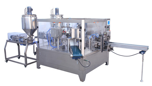 Rotary Packing Machine (Double filling)