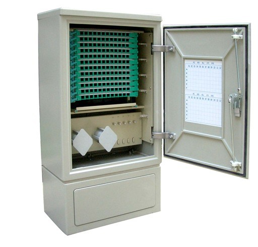 SMC Stainless Steel Outdoor Fiber Optic Cabinet Optical Cabient