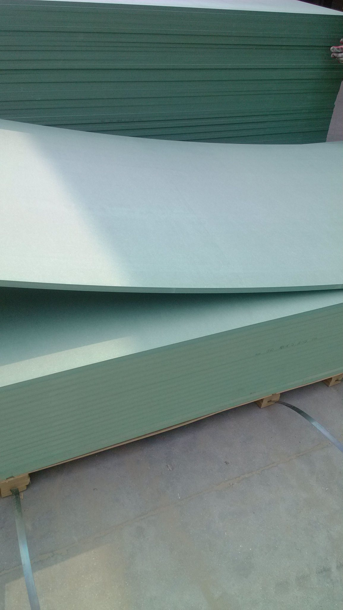 Green Color Moisture-Proof MDF /Water -Proof MDF Board