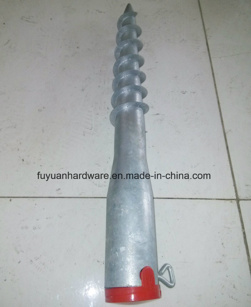 Hot DIP Galvanized Solar Panel Mounting Ground Screw