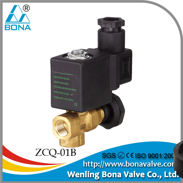 Flow Through Solenoid Valve Solenoid Valve Steam/water