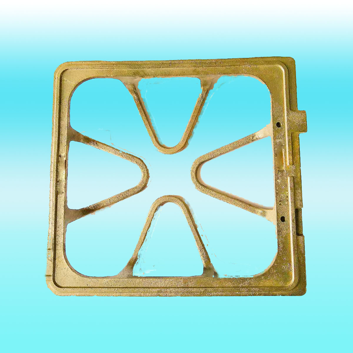 Casting Iron Grate Gas Stove