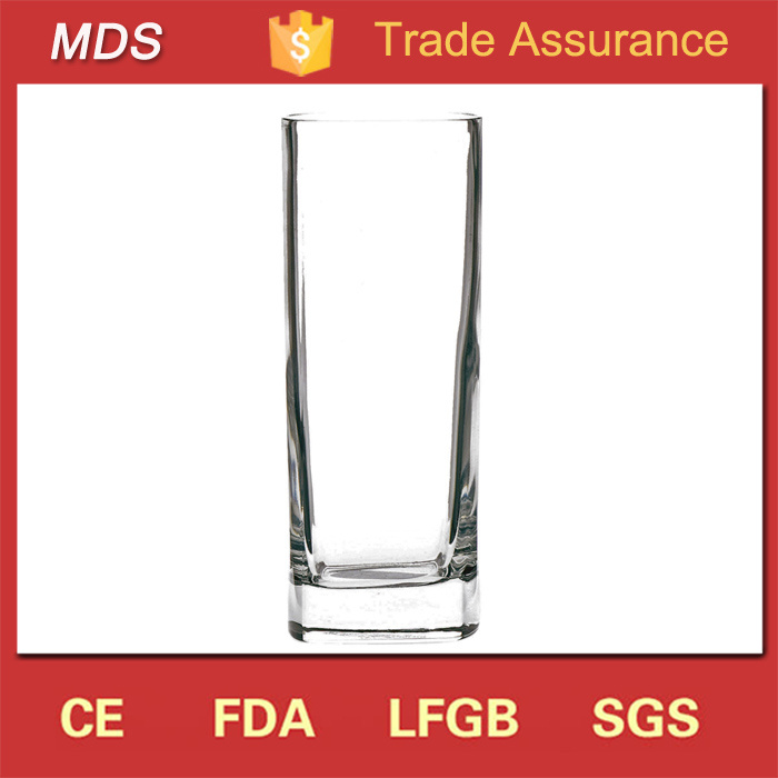 Glassware Manufacturers Square Base Highball Beer Glasses