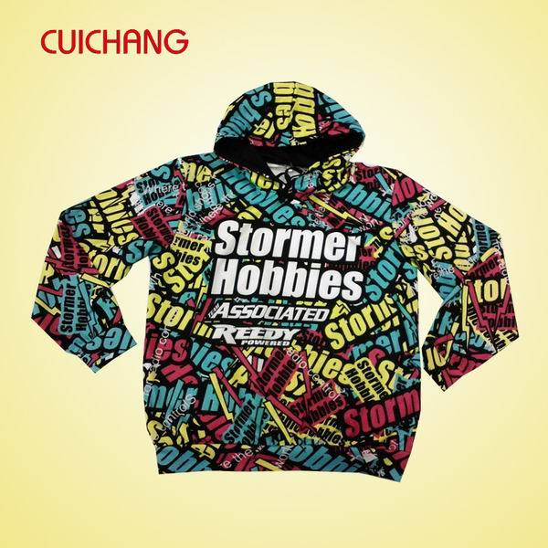 Custom Sweatshirt, Digital Sublimation Sweatshirt, Unisex 100%Cotton Hoodies