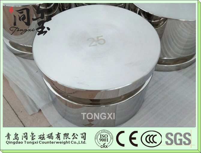 OIML Standard Stainless Steel Test Weight