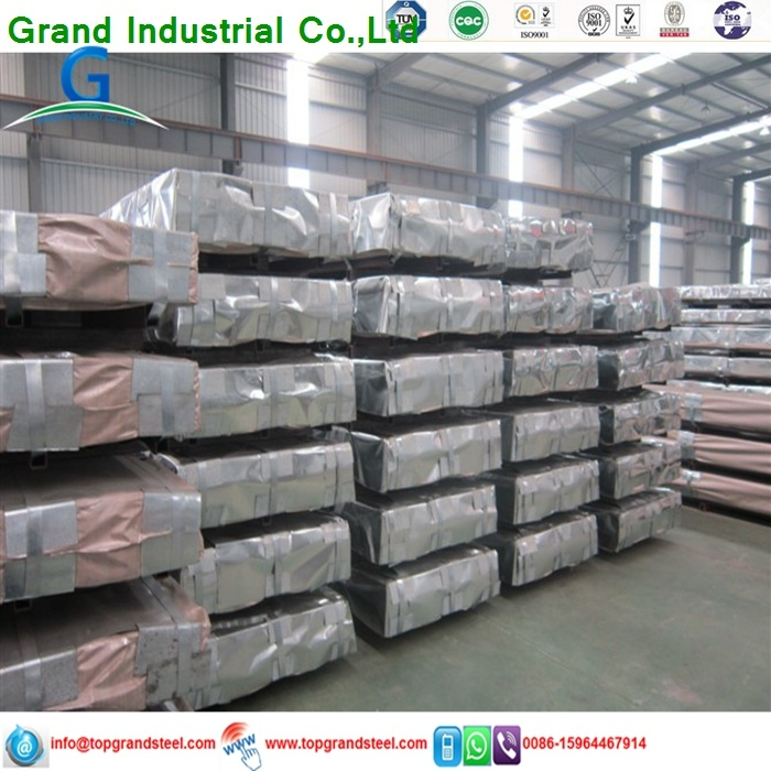 Trapezoidal PPGI/Gi Aluzinc Corrugated Galvanized   Roof  Sheeting  Prices for Africa Market 5