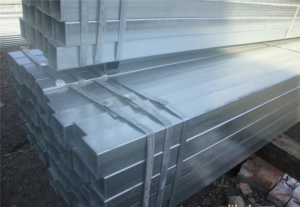 Galvanized Square Steel Pipe, Steel Pipe
