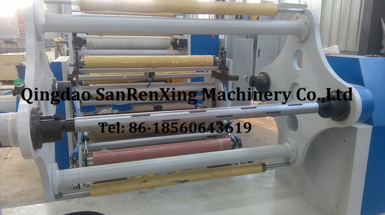 Rotary Bar Hot Melt Coating Machine for Aluminum Foil Tape