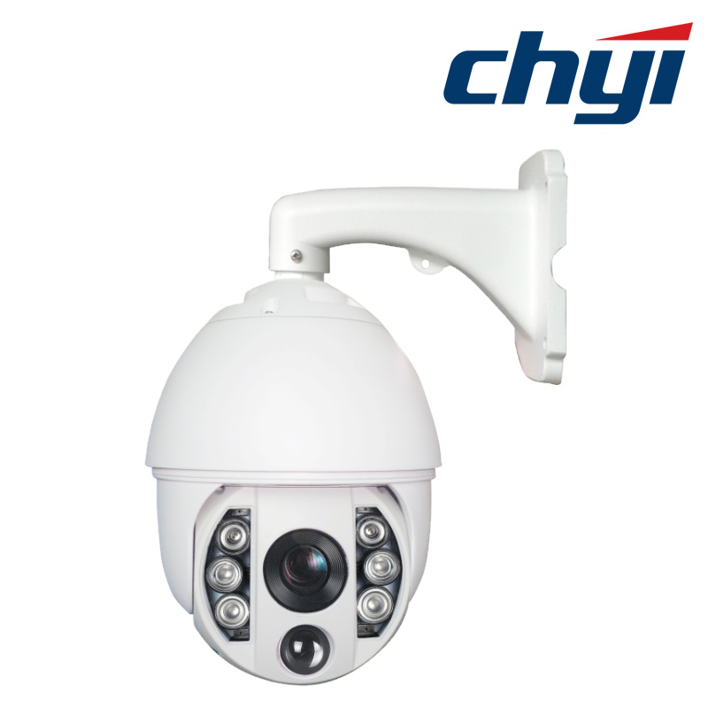 CMOS 2.1MP Hi3518c 18X 150m Video Security IP PTZ Camera