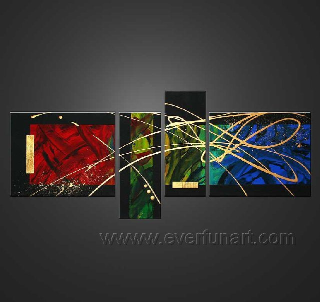 china oil painting abstract painting modern painting supplier home decorating with modern art - Home Decor Art