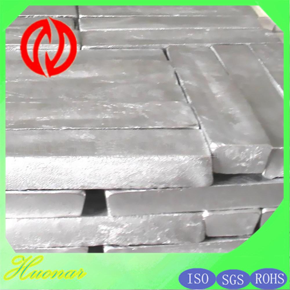 Mg Ingot Magnesium Ingot Mg9993 Mg9995 Pure Magnesium Alloy Ingot