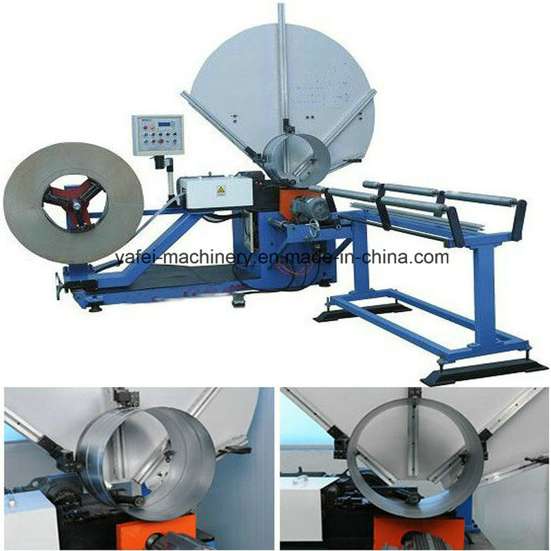 Spiral Duct Forming machine for Round Tube Pipe Making