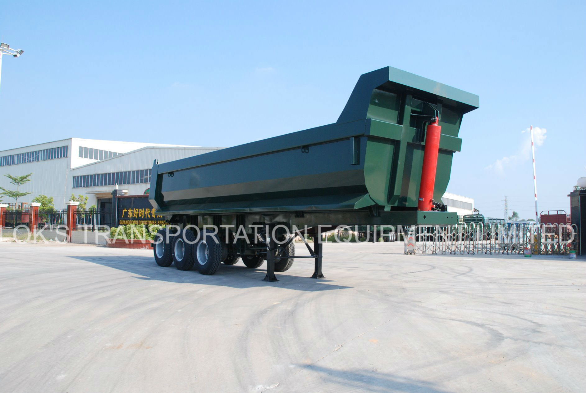 Tipper Semi-Trailer 3 Axle 24 Cbm U-Style