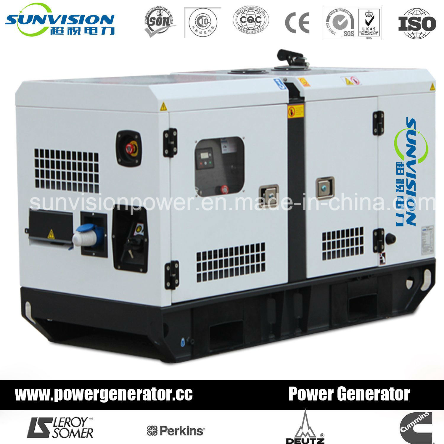 60Hz Generator Set with Perkins Engin From 10kVA 1875kVA