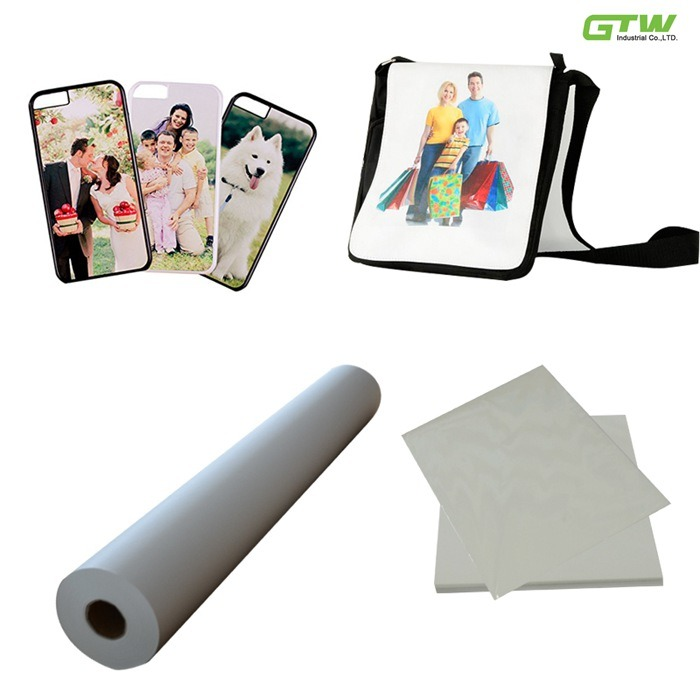 80GSM Sublimation Transfer Paper Anti-Curl Fast Dry for Inkjet Printer (for Epson /Mimaki/Mutoh/Roland)